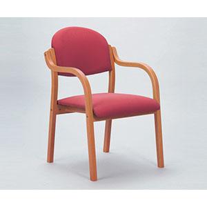 【アイコ】木製椅子 ローズ MW-320(VG1)RO