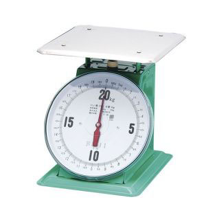 【富士計器製造】フジ 上皿自動ハカリ 特大E型 20kg (平皿付) BHK5220