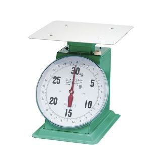 【富士計器製造】フジ 上皿自動ハカリ デカO型 30kg (平皿付) BHK5330
