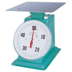 【富士計器製造】フジ 上皿自動ハカリ デカO型 50kg (平皿付) BHK5350