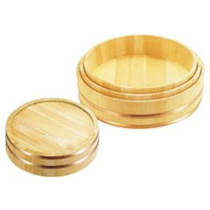 【雅うるし工芸】木製銅箍 飯台(サワラ材) 45cm BHV01045