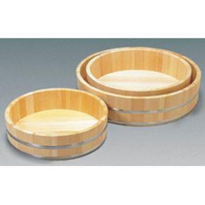 【雅うるし工芸】木製ステン箍 飯台(サワラ材) 54cm BHV02054