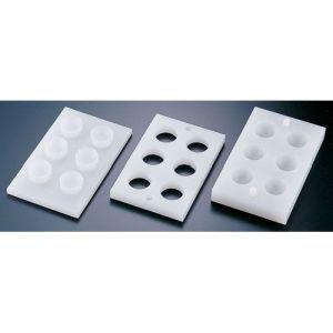 【住ベテクノプラスチック】PE手まり寿司型(6ヶ取) BSS5201