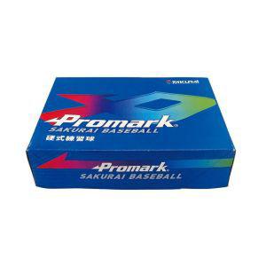 【プロマーク Promark】硬式練習球 12球入 WH BB-950