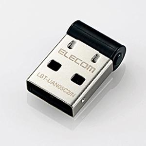 メール便1個まで対象商品 供え SALE エレコム ELECOM LBT-UAN05C2 N Bluetooth ブラック PC用USBアダプタ 超小型 ブルートゥース Ver4.0