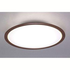 送料無料!!【アイリスオーヤマ IRIS】LEDシーリングライト 木調フレーム12畳調光・調色 ウォールナット CL12DL-5.0WF-M【smtb-u】