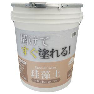 【ワンウィル】Easy&Color珪藻土 18kg ピンク