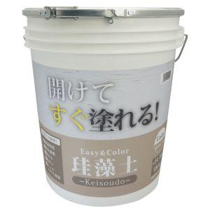 【ワンウィル】Easy&Color珪藻土 18kg キャメル