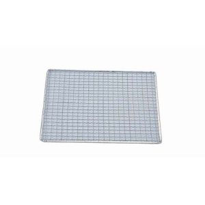 【永田金網製造】亜鉛引 使い捨て網 正角型(200枚入) S14