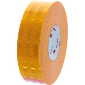 【スリーエム 3M】ダイヤモンドグレード反射シート 黄色 50.8mm×45.7m P×9471 50.8