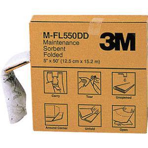 【スリーエム 3M】メンテナンスソーベント(フォールデッドタイプ) 127mm×15.2m M-FL550DD