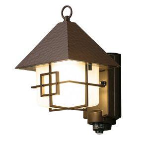 【東芝 TOSHIBA】LEDアウトドアブラケット ON/OFFセンサー付ポーチ灯 マイルドホワイト 180×305 ランプ別売 LEDB88900Y(W)M