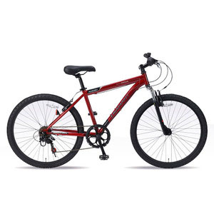 送料無料!!【マイパラス MYPALLAS】MTB26 6SP Fサス レッド 自転車 マウンテンバイク M-620 RD 法人限定 メーカー直送 代引き不可【smtb-u】