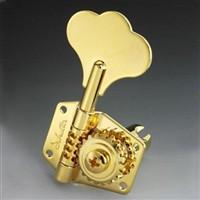 【SCHALLER】Schaller シャーラー ベース用ペグ Bass BM 524/Gold ハンドポリッシュ 2L/2Rセット(国内正規品)