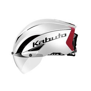 送料無料!!【OGK KABUTO オージーケーカブト】AERO-R1 パールホワイトレッド-3 L/XL 自転車 ヘルメット【smtb-u】