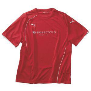 【PB スイスツールズ SWISS TOOLS】PBスイスツール プーマTシャツ (L) レッド 2751L
