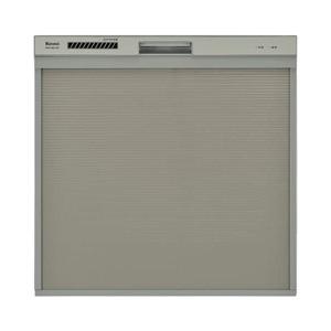 【リンナイ Rinnai】食器洗い乾燥機 スライドオープンタイプ RSW-404A-SV(シルバー)