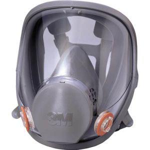 【スリーエム 3M】防毒マスク全面形面体 6000F Mサイズ 6000F M