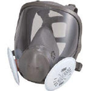 【スリーエム 3M】取替式防じんマスク 6000F/2071-RL2 Mサイズ 6000F/2071-RL2M