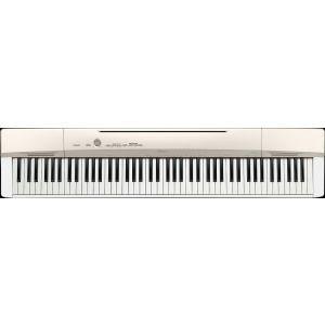 送料無料!!【CASIO カシオ】デジタルピアノ プリヴィア 88鍵盤 シャンパンゴールド調 PX-160GD 【メーカー直送 代引き不可】【smtb-u】