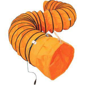 送料無料!!【スイデン Suiden】送風機用ダクト 防爆用アース端子付 320mm 5m SJFD-320DC【smtb-u】