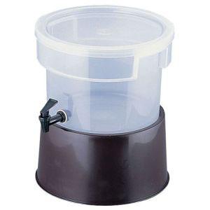 【カーライル CARLISLE】丸型ビバレッジディスペンサー 3ガロン 茶 2227