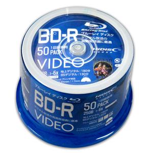 納期: 取寄品 キャンセル不可 出荷:約7-11日 土日祝除く ハイディスク NEW売り切れる前に☆ HI DISC BD-R 25GB VVVBR25JP50 通信販売 磁気研究所 50枚 6倍速 ブルーレイディスク