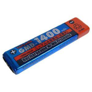【トップランド TOPLAND】ガム電池 ニッケル水素1.2V 1400mA