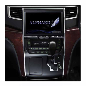 【アルパイン(ALPINE)】アルファード/ヴェルファイア(20系 メーカーOPナビ付車)専用 (バックビューカメラ付属) PKG-R-EX10Z-AV20