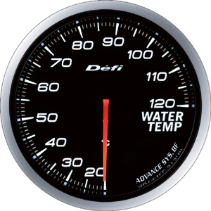 【デフィ Defi 日本精機】Defi-Link ADVANCE BF 水温計 ホワイト DF10501