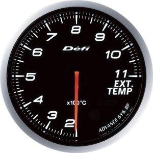 送料無料!!【デフィ Defi 日本精機】Defi-Link ADVANCE BF 排気温度計 ホワイト DF10601【smtb-u】