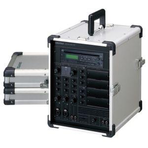 【ユニペックス】CD付キャリングアンプ CGA-200DA