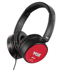 【ヴォックス VOX】アンプ内蔵 ヘッドフォン 【アンプ・フォーンズ】amPhones BASSタイプ