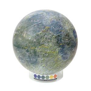 【ケニス KENIS】月球儀 KAGUYA-1 1-141-077