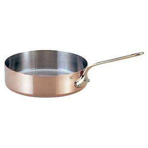 【モービル】カパーイノックス 片手浅型鍋 (蓋無) 20cm 652320