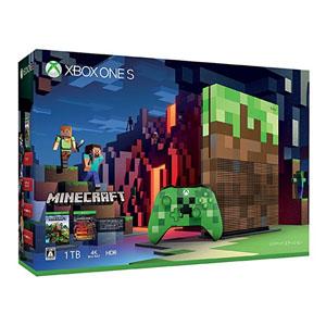 【マイクロソフト Microsoft】Xbox One S 1TB Minecraft リミテッド エディション