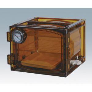 送料無料!!【アズワン】真空デシケーター(UVカットタイプ) 420×392×281mm VDC-21U 1-612-03【メーカー直送・代引不可】【smtb-u】