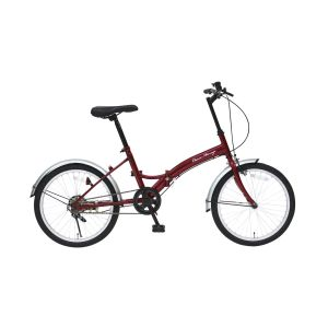送料無料!!【ミムゴ】クラシックミムゴ FDB20E 20インチ折畳自転車 クラシックレッド MG-CM20E【メーカー直送・代引不可】【smtb-u】