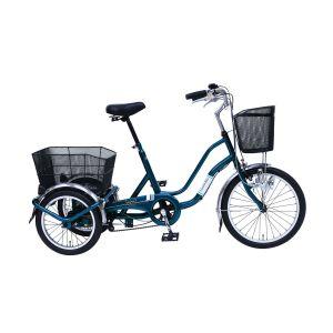 送料無料!!【ミムゴ】SWING CHARLIE2 20インチ三輪自転車 ティールグリーン MG-TRW20E【メーカー直送・代引不可】【smtb-u】
