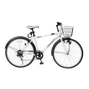 激安本物 送料無料 700C6SF!!【ミムゴ】シボレー 700C6SF ホワイト クロスバイク クロスバイク ホワイト MG-CV7006F-RL【メーカー直送・代引不可】【smtb-u】, アートライフ:cfdfb47d --- rekishiwales.club