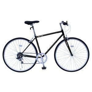 送料無料!!【ミムゴ】FIELD CHAMP フィールドチャンプ クロスバイク 700C6SF MG-FCP700CF-BK【メーカー直送・代引不可】【smtb-u】