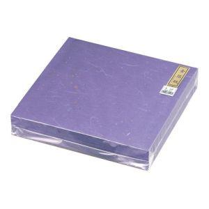 【マイン】金箔紙ラミネート 紫 (500枚入) M30-418