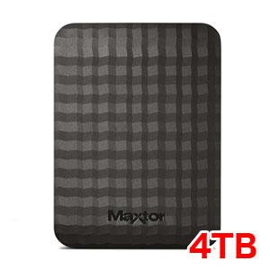 送料無料!!【マクスター MAXTOR】USB3.0対応 ポータブルHDD4TB HX-M401TCB/GM【smtb-u】