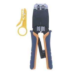【サンワサプライ SANWA】かしめ工具(ラチェット付き) HT-500R