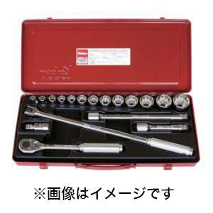 【コーケン Ko-ken】12.7mm差込 ソケットセット 18ヶ組 4289M