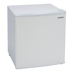 【吉井電気】アビテラックス 1ドア小型冷蔵庫 直冷式 46L ホワイトストライプ AR509E