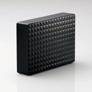 【エレコム ELECOM】SEAGATE New Expansion 外付けハードディスク USB3.1対応 2TB NZシリーズ ブラック SGD-NZ020UBK