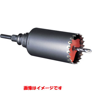 【ミヤナガ MIYANAGA】ミヤナガ MIYANAGA 振動用コアドリル Sコア/ポリクリック セット 50×130 PCSW50