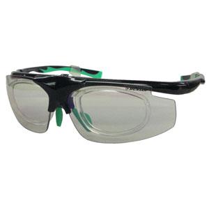 【ダンロップ DUNLOP】無料度付きサングラス はね上げタイプ ブラック DU-019