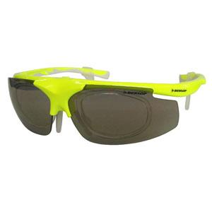 【ダンロップ DUNLOP】無料度付きサングラス はね上げタイプ 蛍光イエロー DU-019